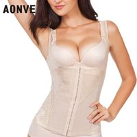 Wholesale Fitness Modeling - Wholesale- Slimming Underwear Modeling Strap Body Shaper Sheath Corsets And Bustiers Girdle Waste Trainer Vest Fitness Corset