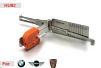 bmw dekoder toptan satış-[SMART] HU92 2 1 oto çekme ve dekoder BMW 3B EWS ROVER için otomatik çekme araçları ile çilingir için yüksek kalite
