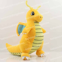 """Wholesale pokemon dragonite toy - Hot Sale Poke Pocket Monsters Dragonite 9"""" 23cm Plush Doll Stuffed Toy Pikachu Animals For Baby Gifts Wholesale"""