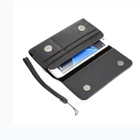 """Wholesale iphone 5s belt holster - 4.0"""" 6.3"""" Universal Clip belt Holster Hasp Leather Case For IPhone 8 7 6 6S Plus 5S Samsung Galaxy S8 S6 S7 Edge S5 Note 5 3 4 Card Bag 1pcs"""