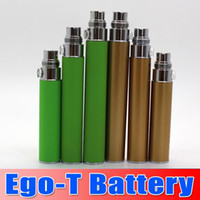 Wholesale Ce5 Vs Ego T - Ego t Battery E Cigarette Batteries 650 900 1100mah match CE4 CE5 Atomizer clearomizer 510 thread battery vs Evod X6 Vision Spinner battery