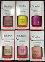 Wholesale Shellac Uv - Shellac Gel Top Color Coat Top Base Coat Foundation for UV Gel Polish 7.3ml
