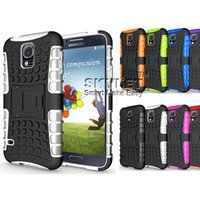 Wholesale Galaxy Impact Armor S4 - For iPhone 7 Armor Case Robot kickstand Heavy Duty Impact Rubber Rugged case For iPhone 5 SS SAMSUNG GALAXY S5 S4 HTC M8