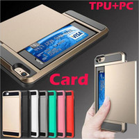 Wholesale Sgp Galaxy S3 - SGP Slide Card Case Back Cover For Samsung Galaxy Grand Prime G530 S3 S4 S5 S6 S7 edge Plus Note 3 4 5 7 J5 J7 A5 A7 A8 2016 A310 A510 A710