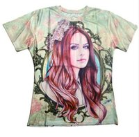 Wholesale Del Rey - Newest Fashion Womens mens Lana del rey Summer Style Funny 3D Print Casual T-shirt LMS000277