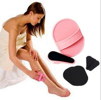 Wholesale Arm Manual - Smooth Legs Smooth Hair Rmoval Away Unwanted Hair cheap Epilator Tools Skin Pads Arm Face Upper Lip OOA2217