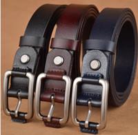 Wholesale Boys Black Dress Belt - Children's belt students dress black belt child child adolescent cowhide