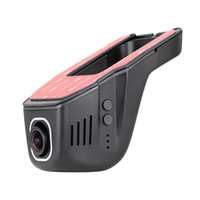 versteckte bewegung video großhandel-Auto DVR Kamera Video Recorder Universal Versteckte DVRs Dashcam Novatek 96658 Wireless WiFi APP Manipulation Full HD 1080p Dash Cam