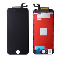 réparation de rétroéclairage lcd achat en gros de-LCD pour iPhone 6s Ecran Tactile de Remplacement Ecran Tactile Assemblage Digitizer Rétro-Éclairage Grade A +++ Panneaux de Réparation Noir Blanc