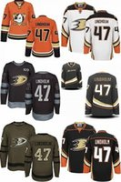 Wholesale Toddler Sale Jerseys - Hot Sale Cheap Customized Mens Womens Kids Toddlers Anaheim Ducks 47 Hampus Lindholm Best Quality Ice Hockey Jerseys Accept Mix Order