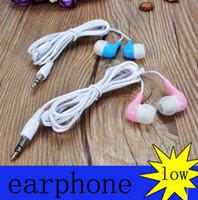 Wholesale Iphone Handsfree Original - Original In-Ear Handsfree Earphones Headset with MIC Volume Control headphone Earphone for Samsung Galaxy S4 S5 S6 S6 s7 Edge plus EG920BW