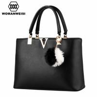 Wholesale Tas Casual - Wholesale- 2016 Woman Famous Brand Handbags Fashion Simple Women Messenger Bags Fit Office Shopping Business Briefcase Female 6 Colors Tas