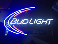 "Wholesale Decorative Tube Bulb - 13""x8'' Bud Light Budweiser Beer Bar Poster Lamp Neon Sign Pub Display Home Wall Decorative Artwork"