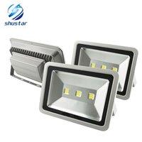 luz de inundación llevada impermeable ip67 al por mayor-Iluminación exterior 100W 150W 200W 300W 400W Epistar Reflector Led Reflector AC85-265V Luz impermeable Reflector Led exterior