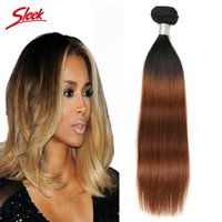 Sleek hair extensions reviews sleek hair extensions buying peruvian hair straight under 400 two tone brazilian human hair extensions straight hair wefts 3 4bundles pmusecretfo Gallery