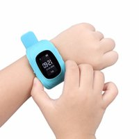 Wholesale Security Fitness - Wholesale- Q50 Smart Watch GPS Locator Wristwatch SOS Call Anti-lost Finder Kid Safe Child Security Monitor Promotional Gift