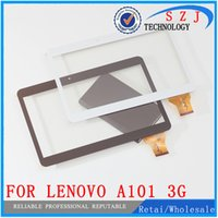 Wholesale Touch Tablet Lenovo - Wholesale- Original 10.1'' inch Touch Screen Panel Digitizer For Lenovo S6000 - A101 3G Quad core Tablet MTK6582 Glass Sensor Free Shipping