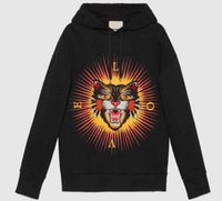 Pop Shop Neue Leopard Cat Print Herbst Winter Männer / frauen Sweatshirts Mit Hut Mit Kapuze Hoodies Tops Pullover Jumper Mäntel