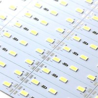 Wholesale Dhl Profile - Edison2011 5630 Hard LED Strip 72 LEDs Cool Warm White Light Rigid Strip DC 12V Aluminium Profile Shell Indoor Decoration Free DHL