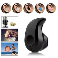 Wholesale stealth phone - Yd New S530 Mini Wireless Bluetooth 4.0 Earphone Stereo Light Stealth Headphones Headset Earbud With Micro phone Universal with retail box