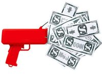 cash money movie - 2017 Supremee Cash Cannon Money Gun Decompression Fashion Toy Make It Rain Money Gun Christmas Gift Toys SM001
