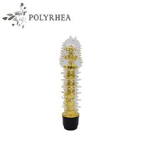 Wholesale Wholesale Sex Girls - G Spot Sex Toys Girls Crystal Light Sticks Small Bald AV Vibrators Sex Products Waterproof Penis Stimulate For Women Orgasm Sex Products