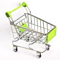 Wholesale Body Cart - Body Graet Gifts Mini Supermarket Handcart Green Shopping Utility Cart Mode Green Storage