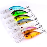 Wholesale hard plastic duck - Hot Duck tongue ABS Plastic bass Fishing lure 14.5g 10cm Minnow Wobblers Bait with 6# Treble Hooks Fly Fishing Tackle