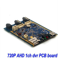 Wholesale Xbox Dvr Recorder - 1CH Mini AHD XBOX DVR PCB Board 30fps Security Digital Video Recorder Support 128GB SD Card 1pcs free shipping ann