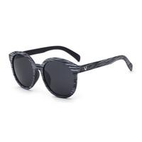 557a464ec54df 2017 nouvelle ronde rétro imitation bois couleur de grain de soleil lunettes  de soleil unisexe Mode Dernière bonne qualité ronde lunettes de soleil pour  les ...