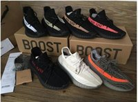 Wholesale 8 colors kanye west sply boost v2 Correct version black copper Orange Running Shoes Sneakers US13 Keychain Socks Bag Receipt Boxes