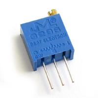Wholesale 5k Potentiometer - Wholesale- 100Pcs lot 3296W-1-502LF 3296W 502 5k ohm Top regulation Multiturn Trimmer Potentiometer High Precision Variable Resistor