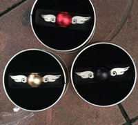 Wholesale Gold Hand Fans - Generation 2 Hand Spinner Cupid wing Golden Snitch Harry Potter Fans Fidget Spinner Hand EDC ADHD Copper Fidget
