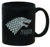 Wholesale Game Horse - 13 5yo Game Of Thrones Magic Mug Dark Game Of Thrones Horse Deluxe Cups Hot Drinking Color Change Tumbler Winter Is Coming Stark