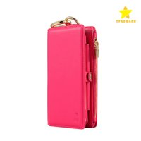 Wholesale Slots Cash - Lastest 2 in 1 Detachable Removable Zipper Leather Wallet Case Cover with Card Cash Slot for Cellphone Samsung