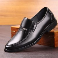 Wholesale Wedding Dresses For Men Suits - High quality Genuine Leather Italy Fashion design gentleman dress shoes for suit shoes wedding and evening party Brogue flat men shoes