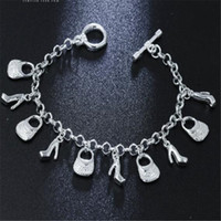 ingrosso vendita di braccialetti di fascino delle signore-