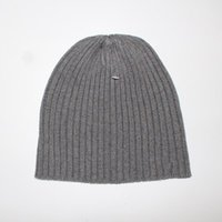 Wholesale Hat Free Knitting Pattern - brand Beanie cap brand style men's women's winter autumn hat men's knitted hats A pattern