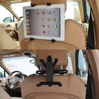 Wholesale google tablet gps - Wholesale- Cobao Car Headrest Mount Holder for GPS Ipad Mini4 3 2 Galaxy Tab Note Asus Samsun Lenovo Dell Acer HP LG Toshiba Google Tablets