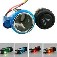 Wholesale Motorbike Cigarette - 12V 120W Car Motorcycle Motorbike Car Cigarette Lighter Power Socket Plug Outlet 4Colors led Boat Tractor Accessory