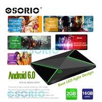 Wholesale Android Tv Cs - Android Boxes 2GB 16GB 2GB 8GB M9S Z8 Amlogic S905X Quad Core IPTV Dual Band Wifi Bluetooth 4.0 Android OTT TV Box CS X92 T95Z