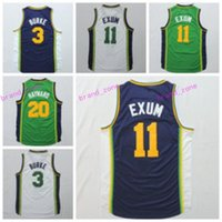 Wholesale Flash Retail - Wholesale And Retail 20 Gordon Hayward Jersey Shirt 11 Dante Exum Uniforms 3 Trey Burke 27 Rudy Gobert Team Road Green Navy Blue White