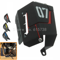 Wholesale radiator grills - Motorcycle Radiator Side Protective Cover Grill Guard For Yamaha MT07 MT-07 2013-2015
