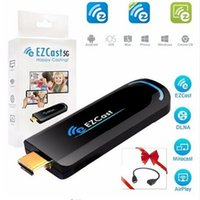 Wholesale EZCast Ghz WiFi HDMI Display Dongle Google Chrome cast DLNA Miracast AirPlay receiver ios windows android tv stick