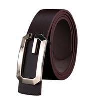 cintos femininos cinturones al por mayor-Al por mayor-Fashion Cool Belt Hombres Casual PU Leather Thin Belt Skinny Slender Waistband Unisex Cintos Femininos Au9