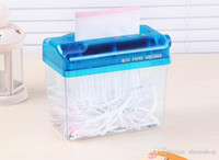Wholesale Paper Cut Roll - Factory direct hand shredder shredder mini home office paper shredder shredding manually strip