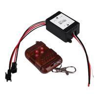Wholesale Lights Flashing For Trucks - Wholesale- Hot 1X 12V Wireless Remote Control Module Strobe Flash For Car Auto Vehicle Trucks Bulbs Light LED Strips