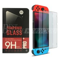 Wholesale Nintendo Iphone - For Nintendo Switch Screen Protector Glass 0.26mm 2.5D Tempered Glass Screen Protector for Nintendo Switch Ship Within 1 day DHL