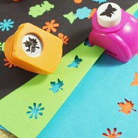 Wholesale Making Paper Toys - Wholesale- Gifl Boy Toy DIY Card Make New Rose Medium Paper Shaper Edge Crafts Cutter Punch For Scrapbooking Tags Kids Toy Gifts YH-17