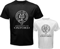 oxford university shirt - 2017 Summer T Shirt New University of Oxford Logo Symbol Men s White Black T Shirt Size S to XL